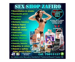 SEX SHOP ZAFIRO TE OFRECE DIFERENTES PRODUCTOS