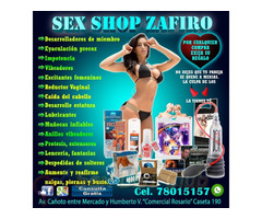 SEX SHOP ZAFIRO TE OFRECE VARIEDADES DE PRODUCTOS